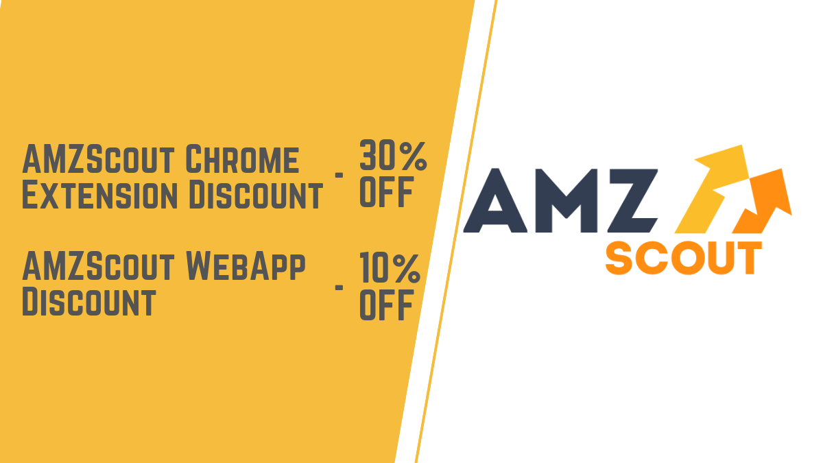 AMZScout Discount (55% OFF AMZScout Pro Extension)