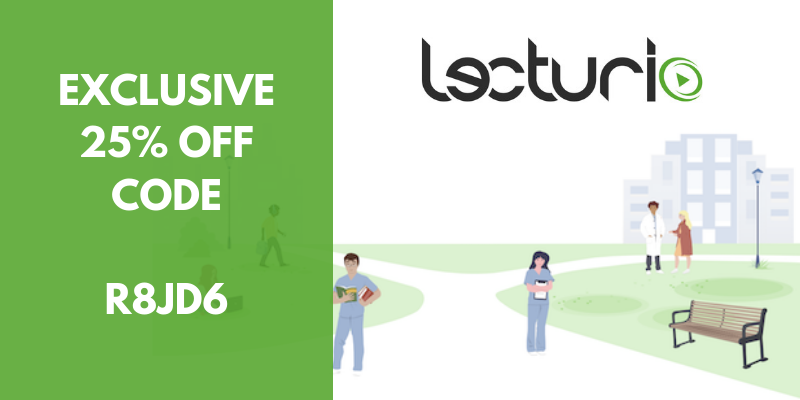 Lecturio Coupon (25% OFF) Verified Discount Coupon