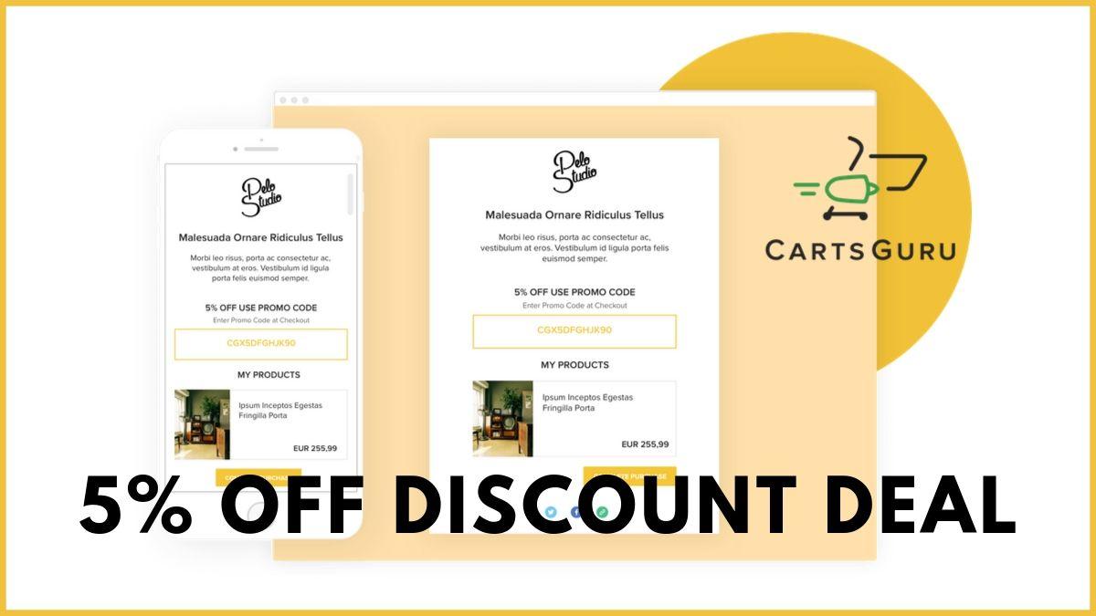 Carts Guru Coupons (Exclusive 5% Discount Code)