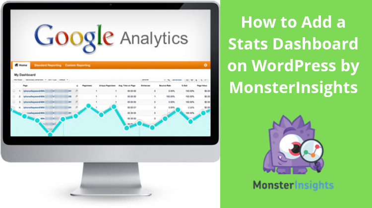 How To Add Stats Dashboard In WordPress Using MonsterInsights?