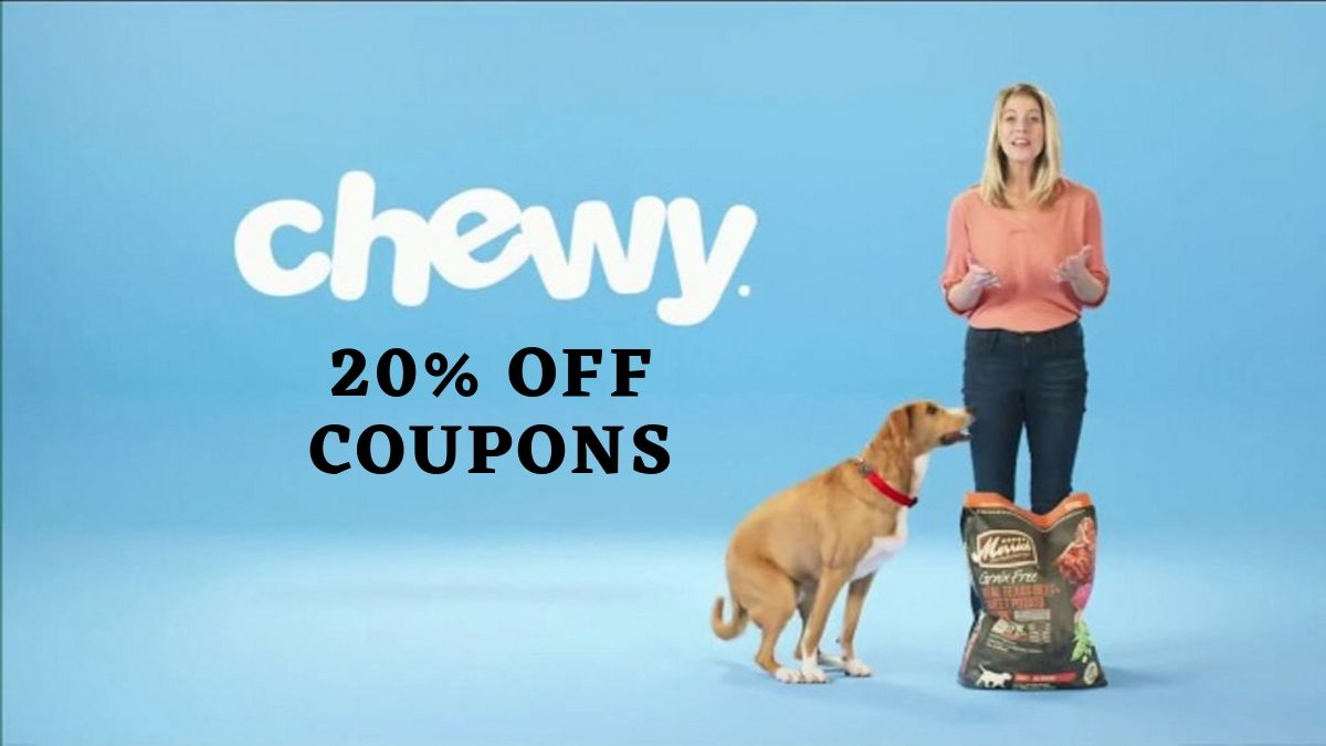 Best Chewy Coupon Code (20% OFF Working Promo Code)