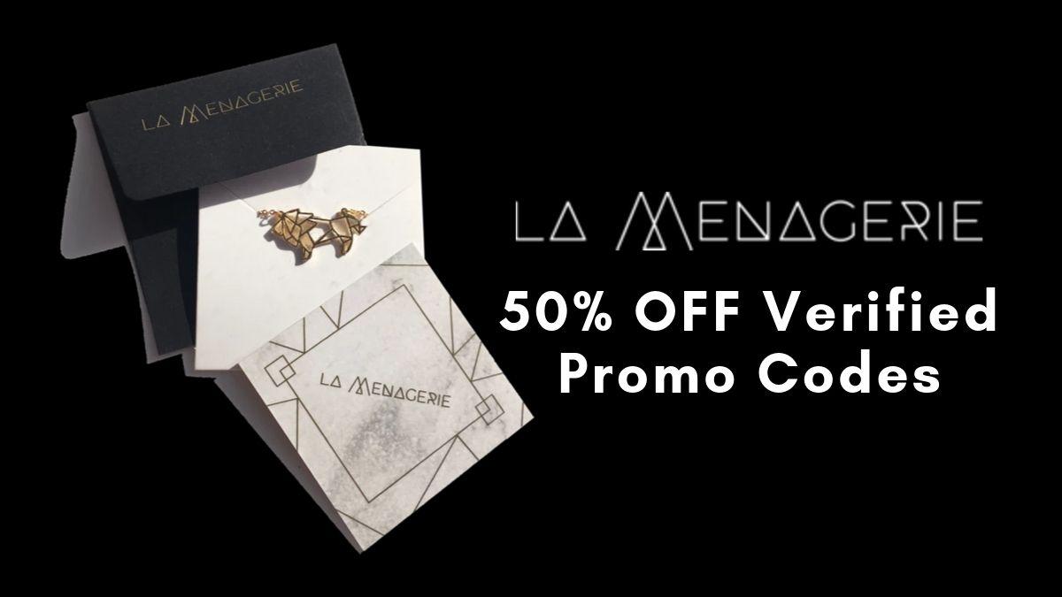 La Menagerie Discount Codes (50% OFF Promo Codes)
