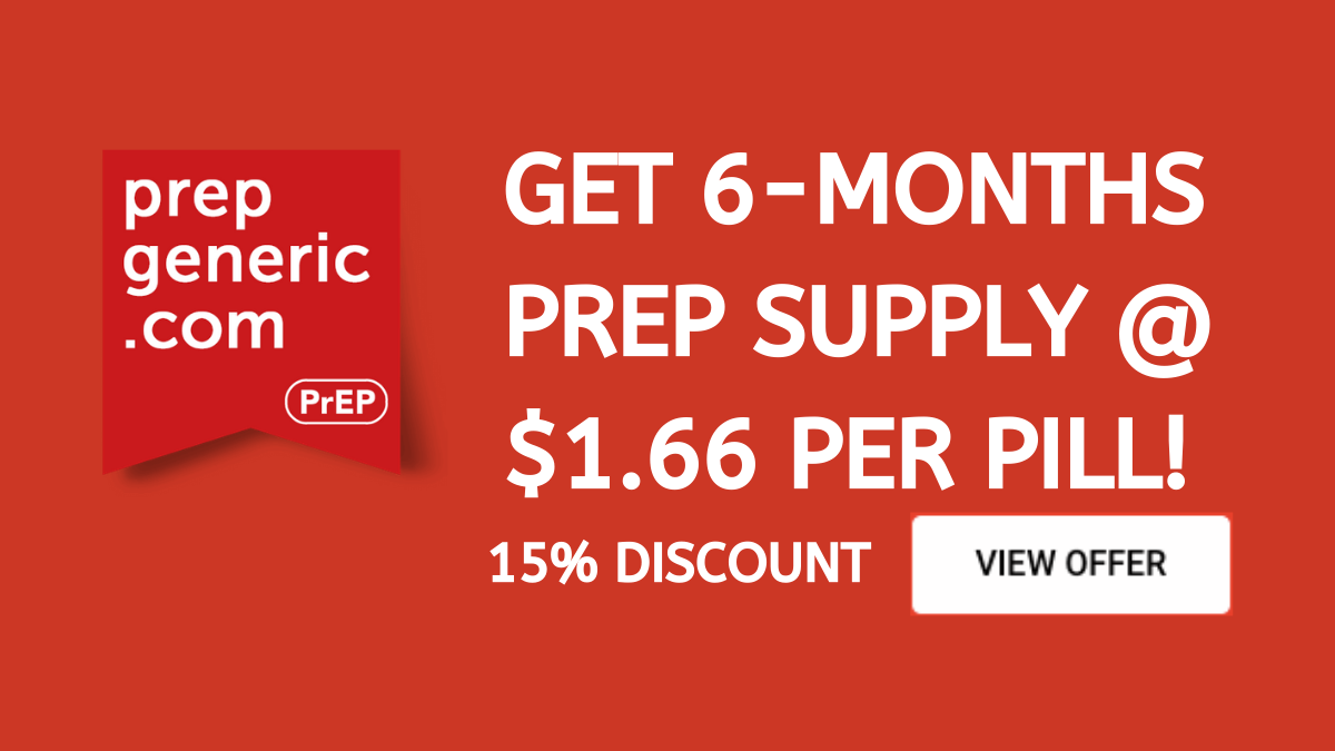 PrEPGeneric.com Coupon ($10 OFF Working Discount Code)
