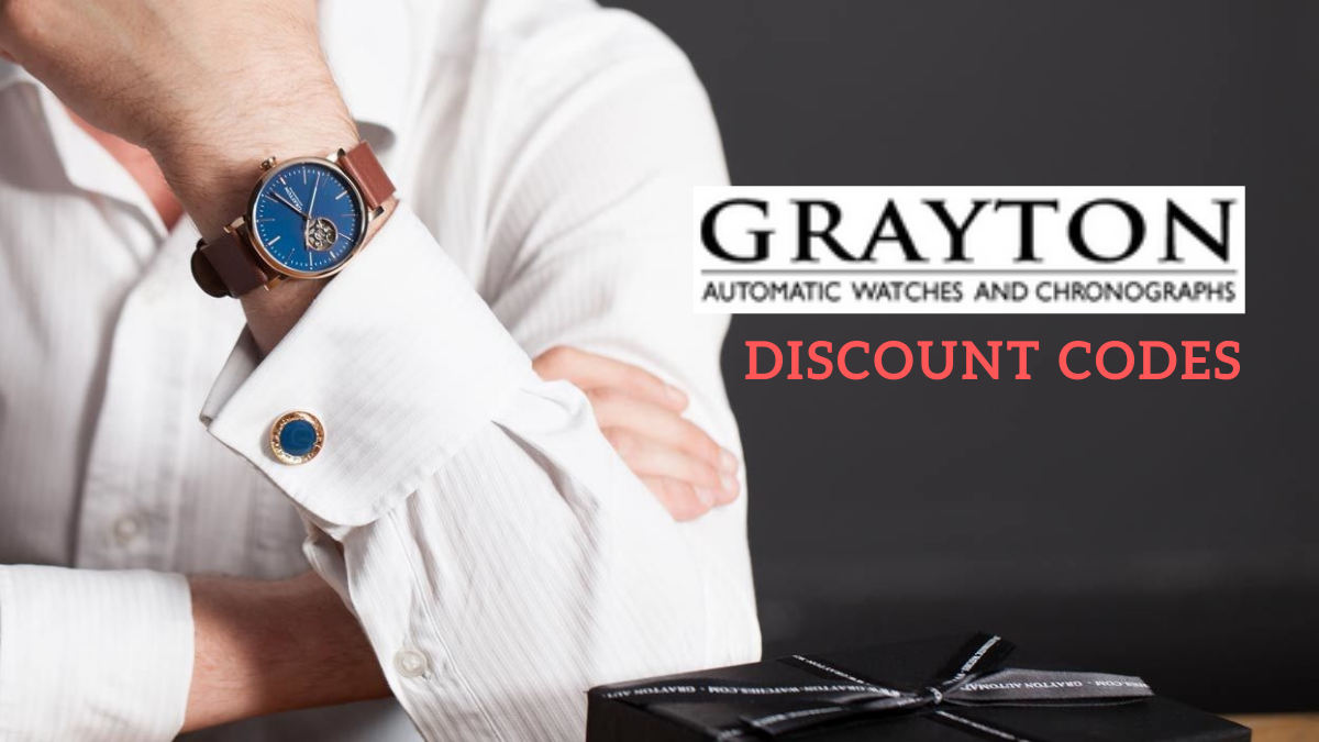 Grayton Watches Coupon Codes (15% OFF Promo Codes)