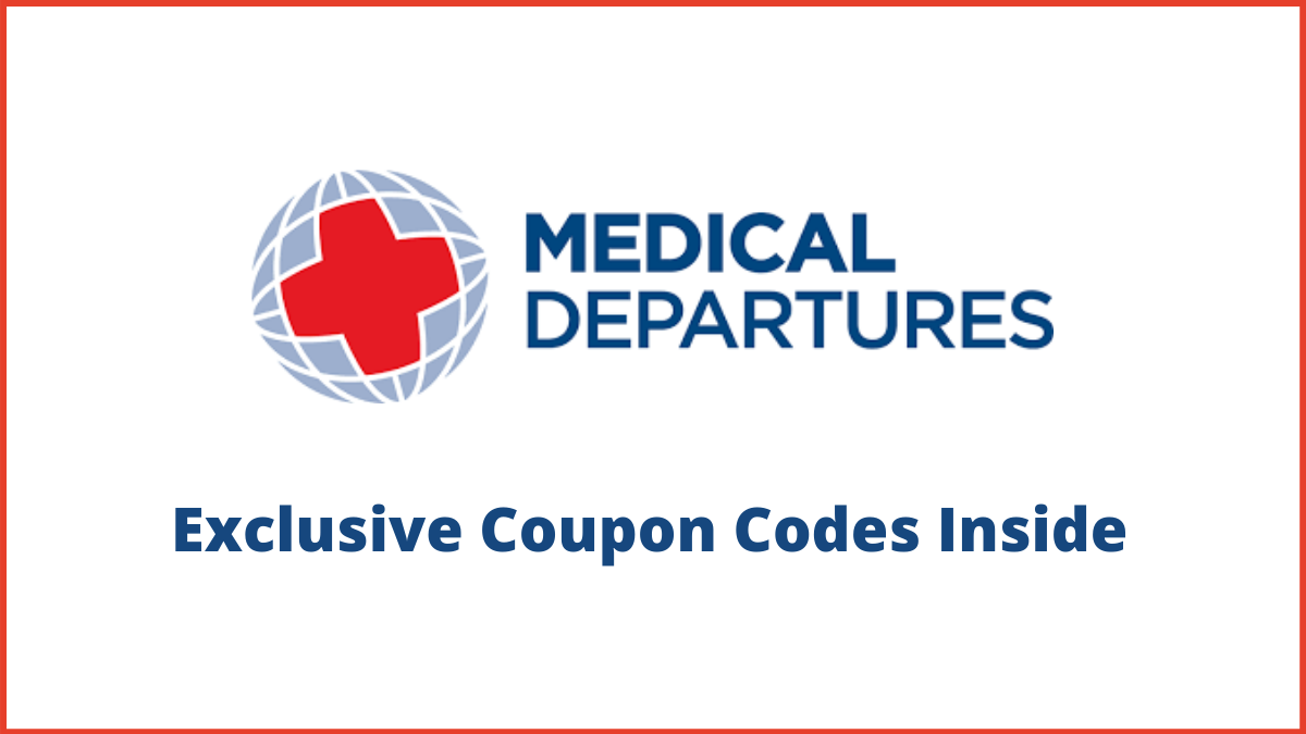 Medical Departures Coupon Code (50% OFF Discount Code)
