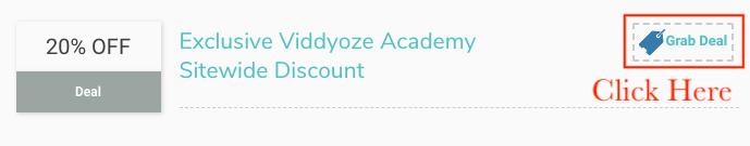 viddyoze academy coupons