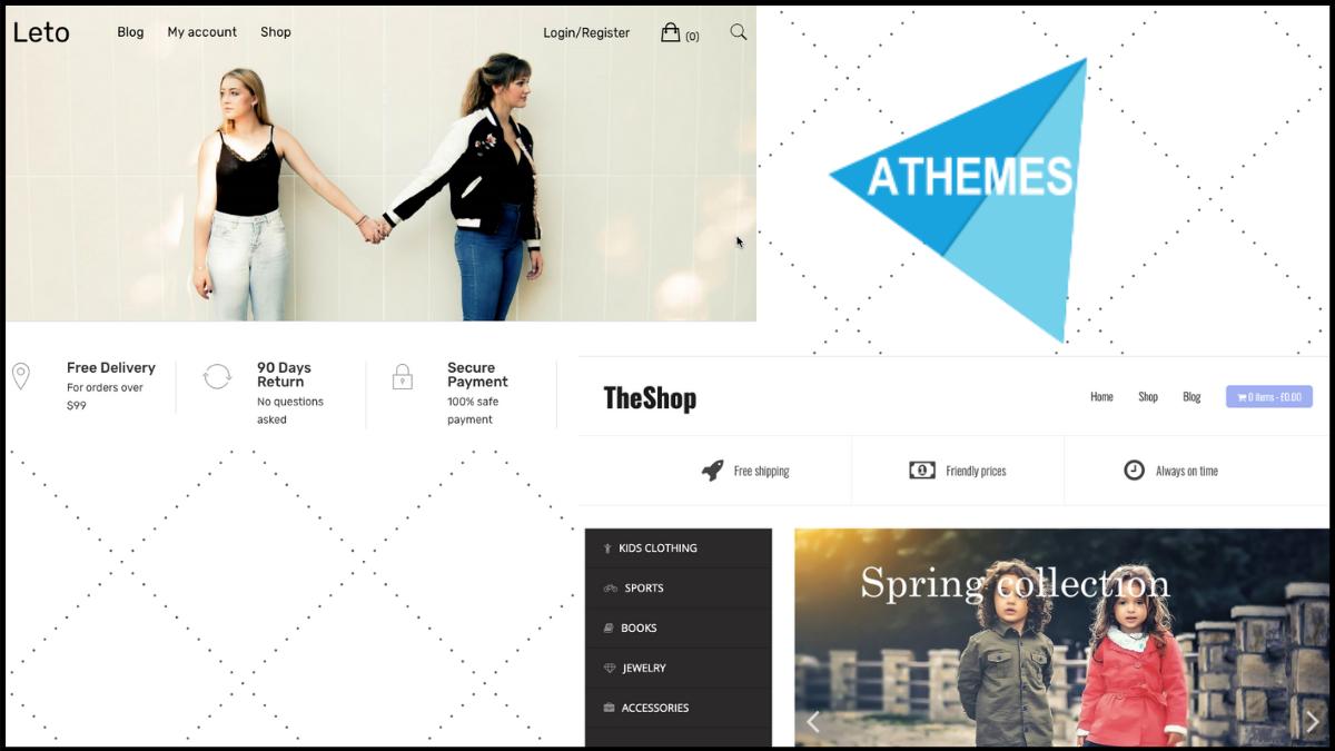 best shopify theme - athemes