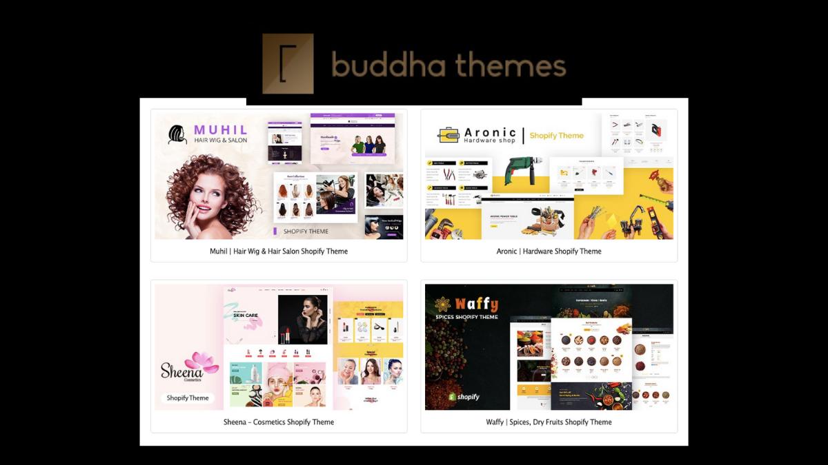best shopify theme - buddhathemes
