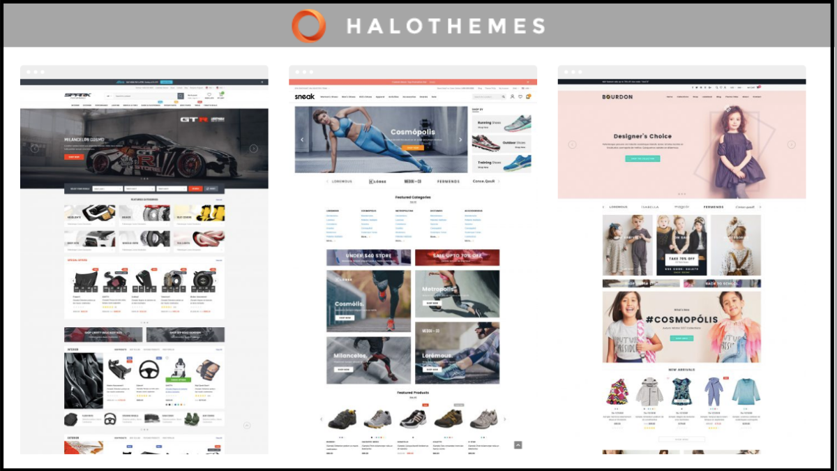 best shopify theme - halo themes