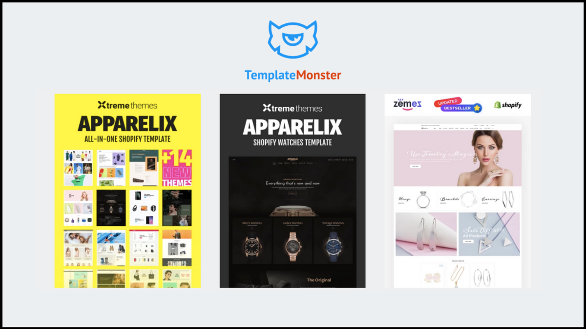 best shopify theme - templatemonster shopify themes