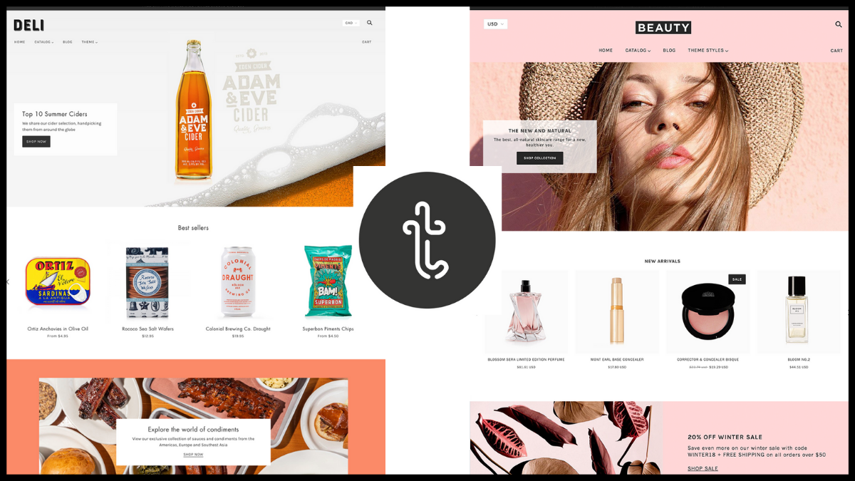 best shopify theme - troop themes