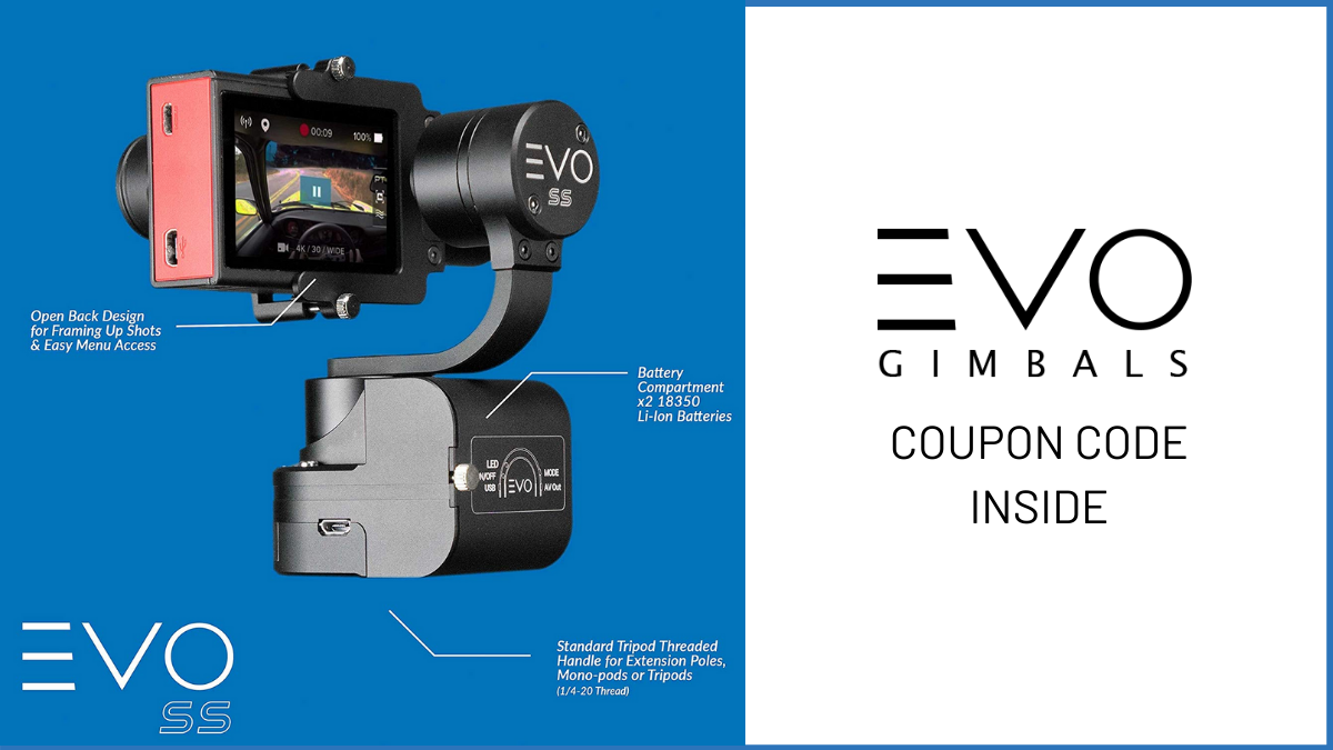 EVO Gimbals Coupon Code (30% OFF Discount Code)