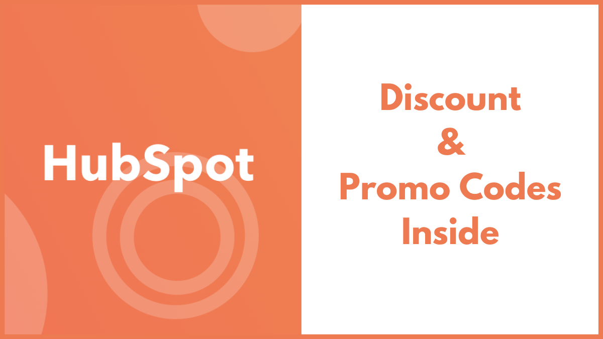 HubSpot Promo Code (Exclusive 20% OFF Discount Deal)