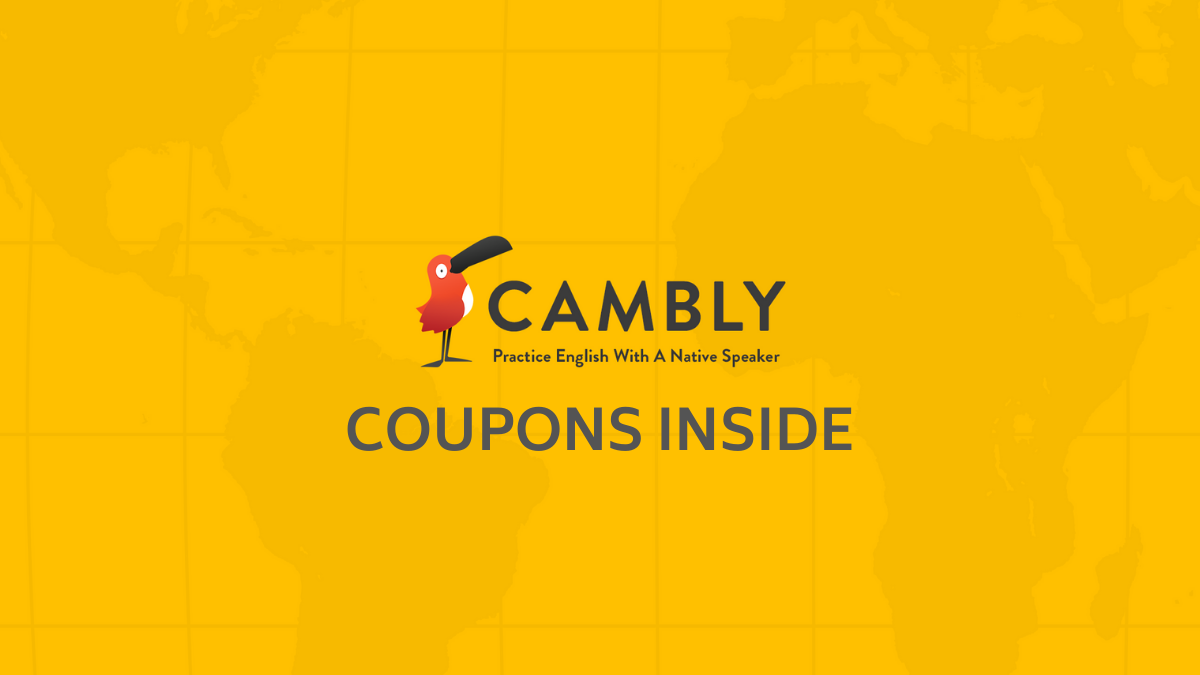 Cambly Promo Codes (Verified 35% OFF Discount Deal)