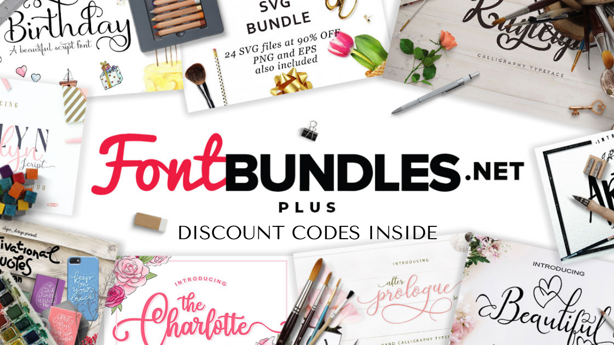 Font Bundles Discount Codes (Working 10% OFF Coupon)