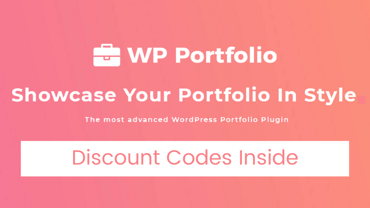 WP Portfolio Discount Code (30% OFF Coupon Codes)