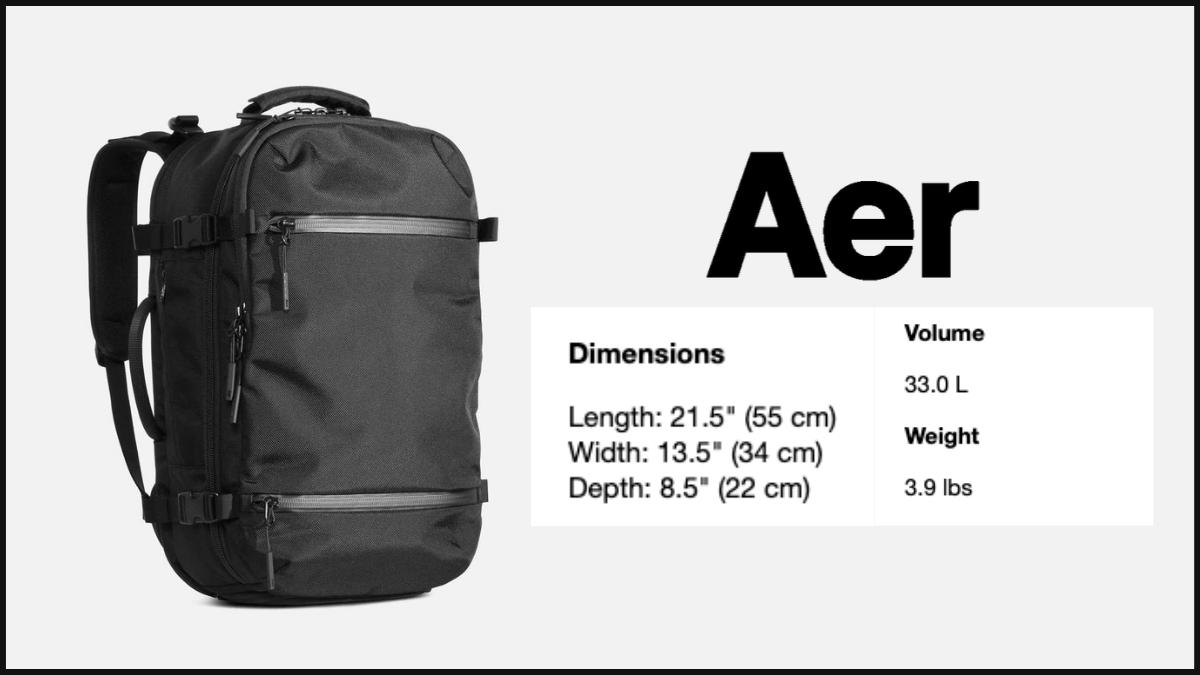AER (Travel Pack)
