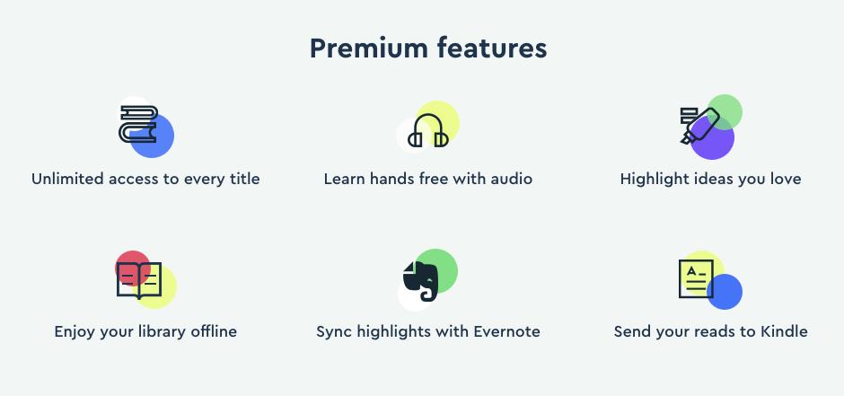 blinkist premium features | blinkist paid app features | blinkist paid app review