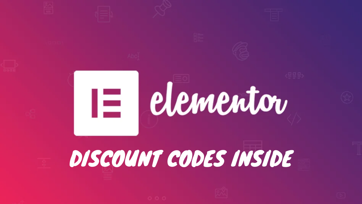 Elementor Pro Discount Code 2020 (30% OFF Coupon Code)