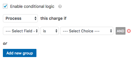 enable conditional logic on wordpress | paypal payments with wpforms