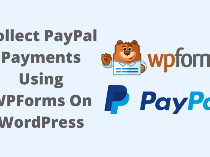 how to add paypal on wordpress website using wpforms
