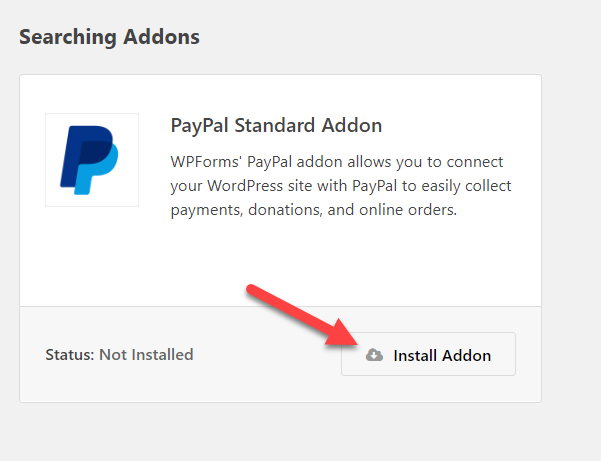 Install paypal on wordpress | wpforms