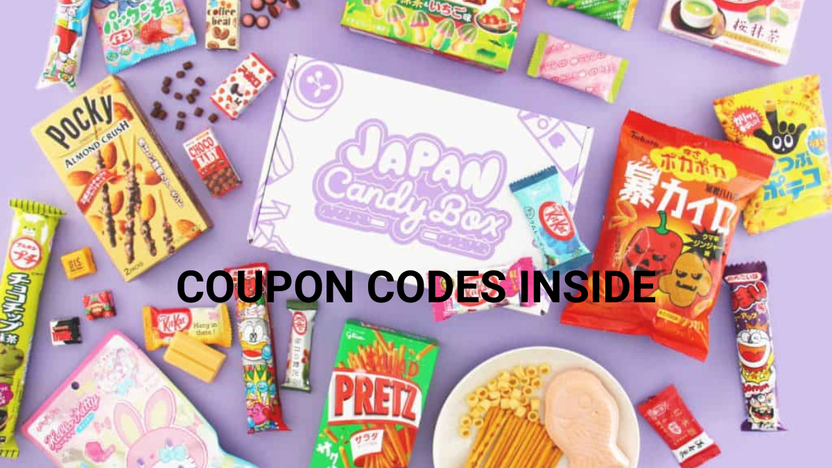Japan Candy Box Coupon Code (50% OFF Discount Codes)