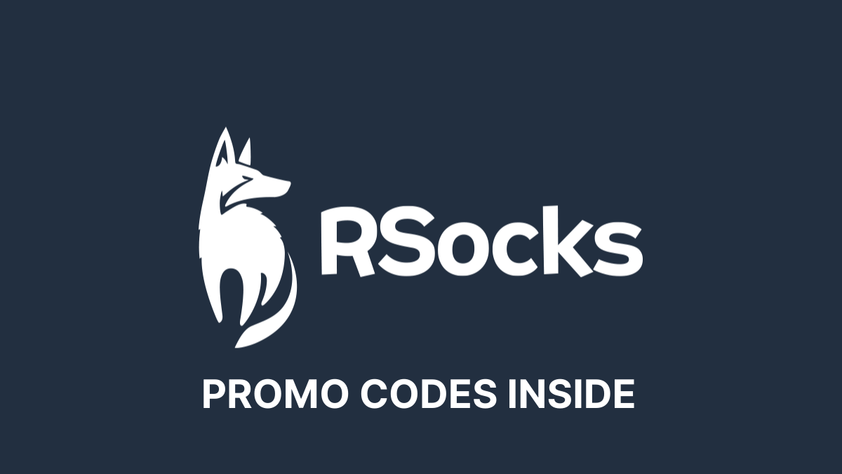 RSocks Promo Code (50% OFF Verified Coupon Codes)