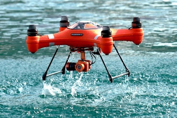 swellpro splash 3 drone review | waterproof features