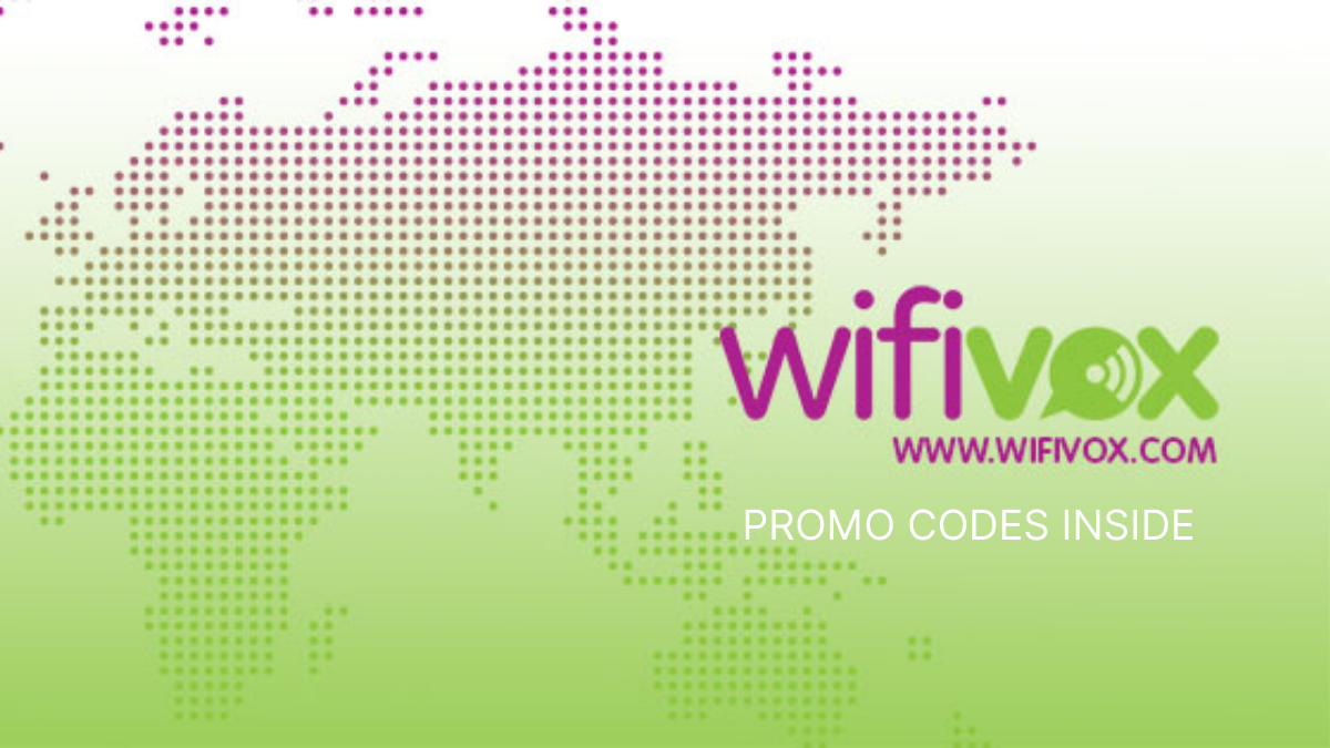 Wifivox Promo Codes (Verified 15% OFF Coupon Codes)