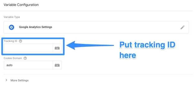 google analytics set up | add tracking ID in tag manager