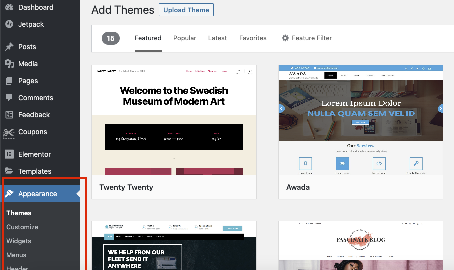 add responsive theme to your wordpress dashbaord