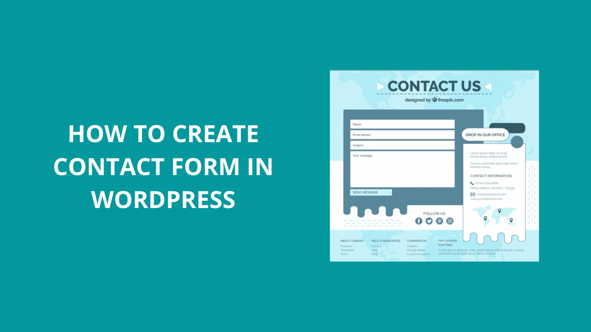 How To Create Contact Forms in WordPress Using WPForms?