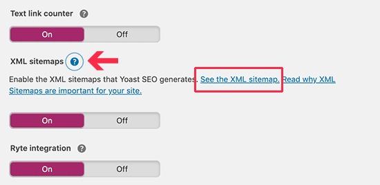 see xml sitemap created by yoast seo plugin