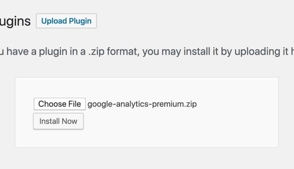 install a plugin on wordpress
