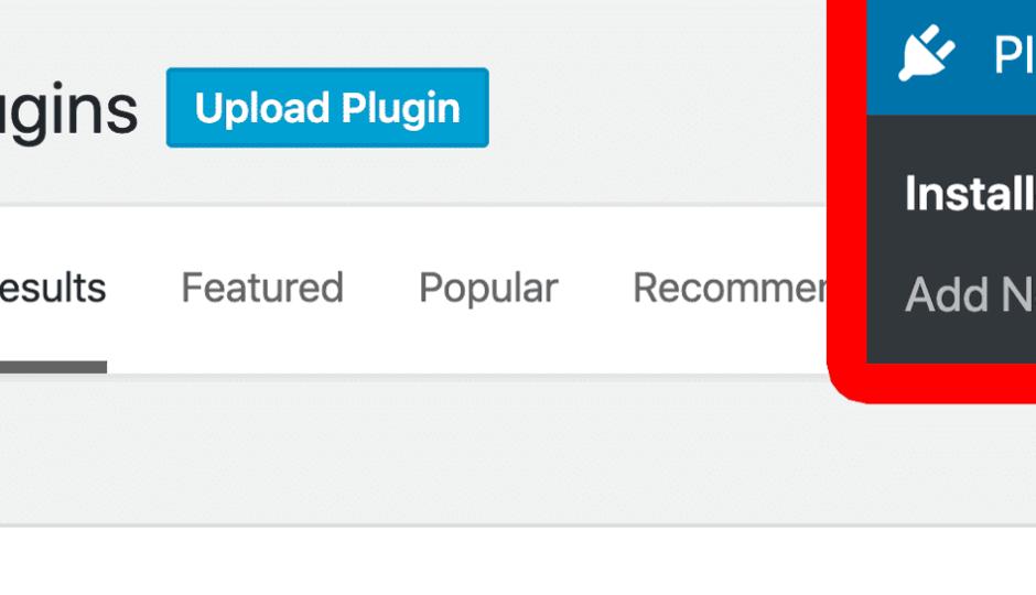 upload a plugin in wordpress