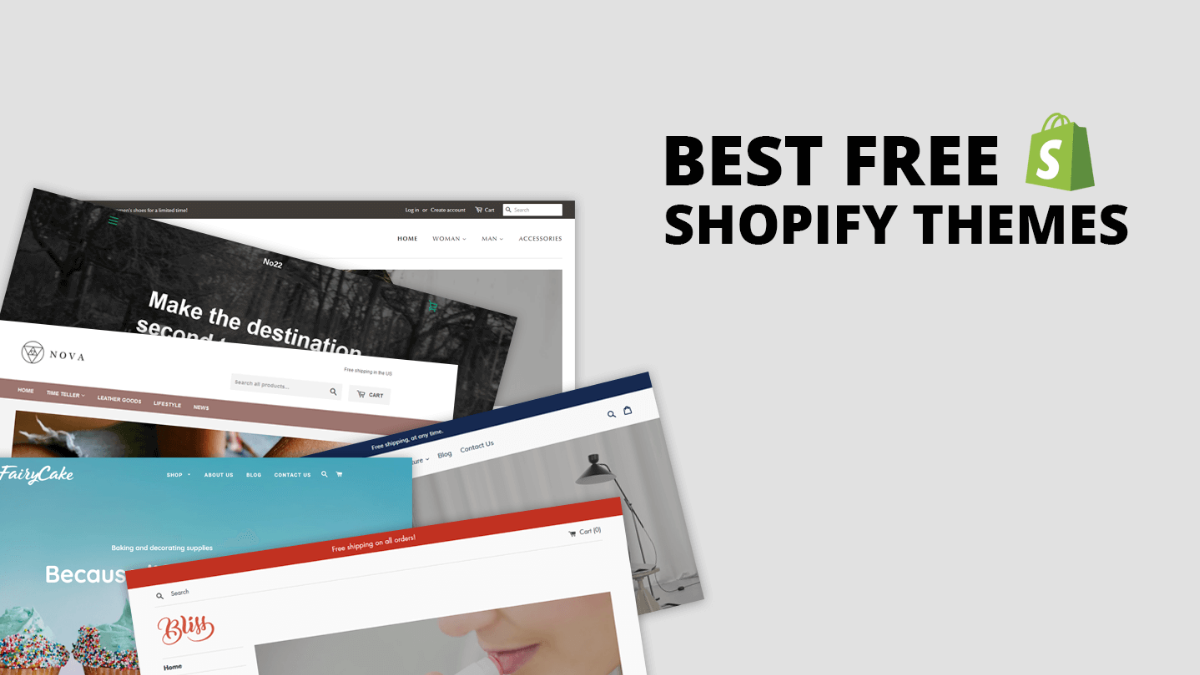 Top Best Free Shopify Themes for Your eCommerce Store