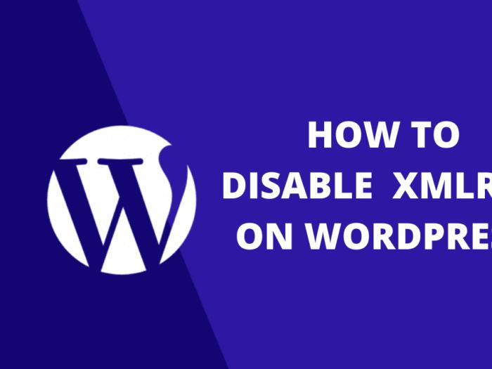 how to disable xmlrpc on wordpress