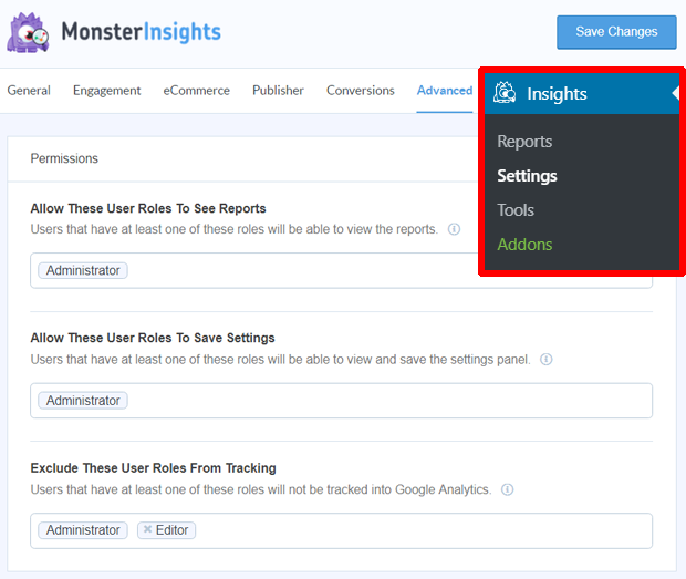 how to see google analytics report in monsterinsights