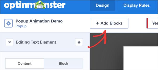 add more blocks to multi-step popups in wordpress