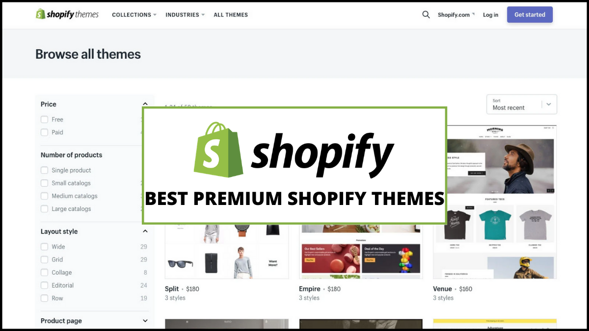 Best Premium Shopify Themes (Acquire New Customers)