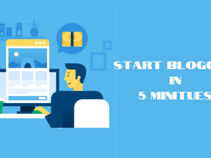 how to start blogging