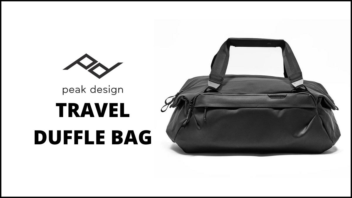 peak design travel duffle bag