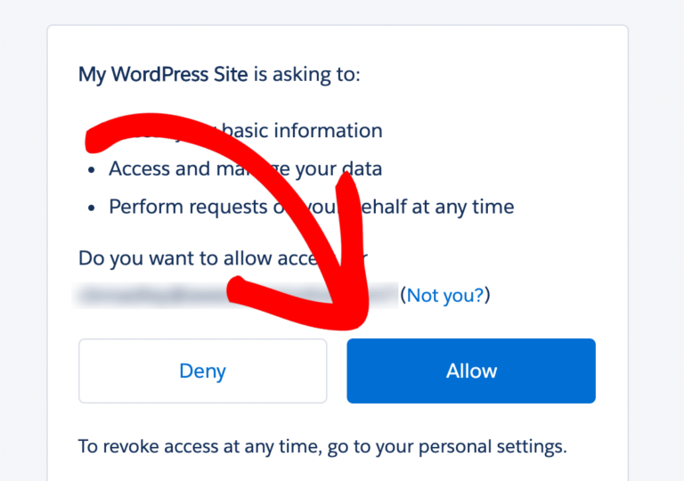 allow salesforce integration with wpforms to seamlessly transfer contacts