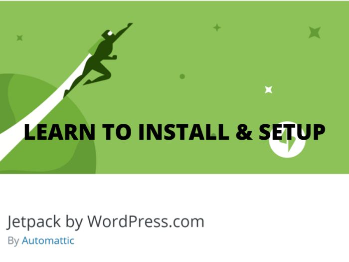 how to install and setup jetpack