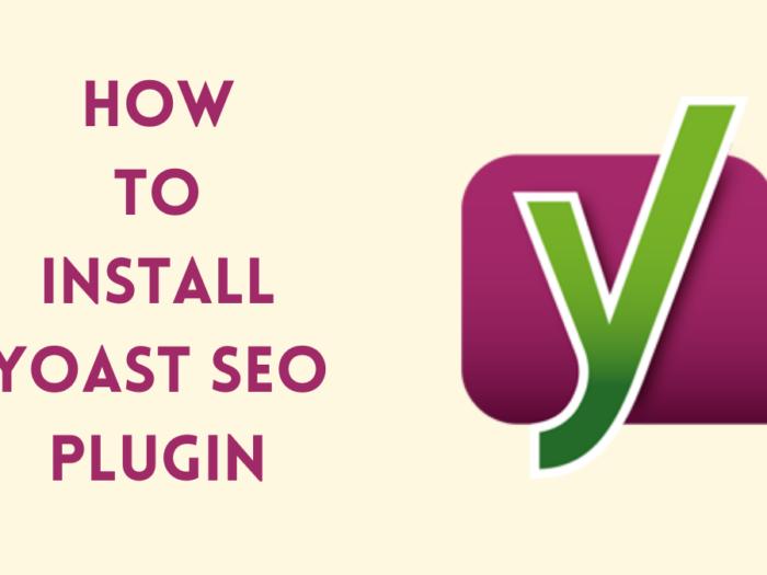 how to install yoast seo plugin