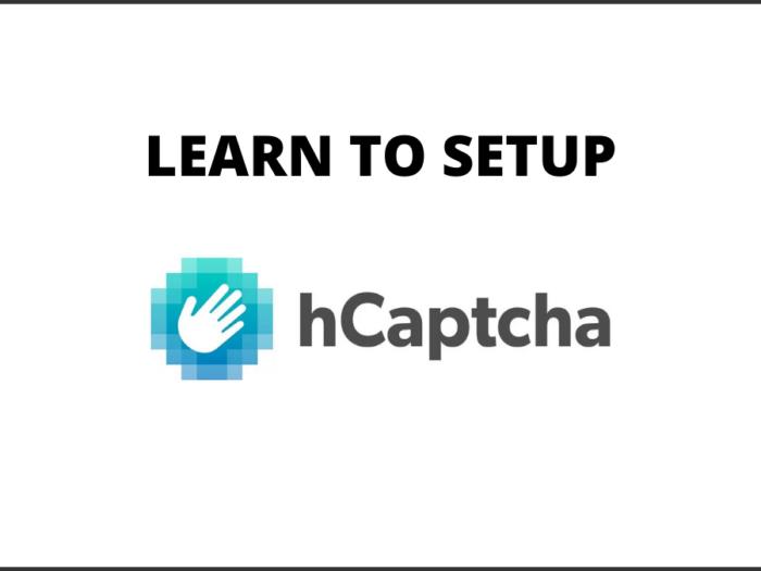how to set up hcaptcha
