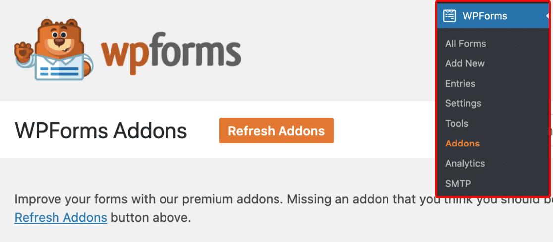 install wpforms in wordpress