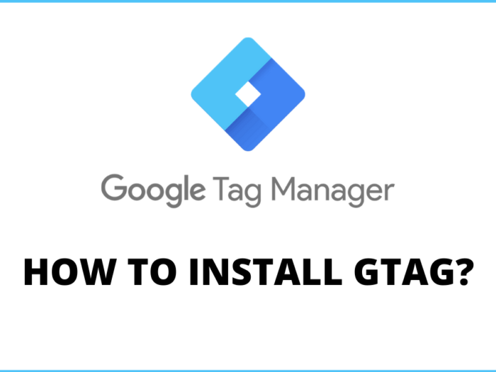 how to install gtag.js