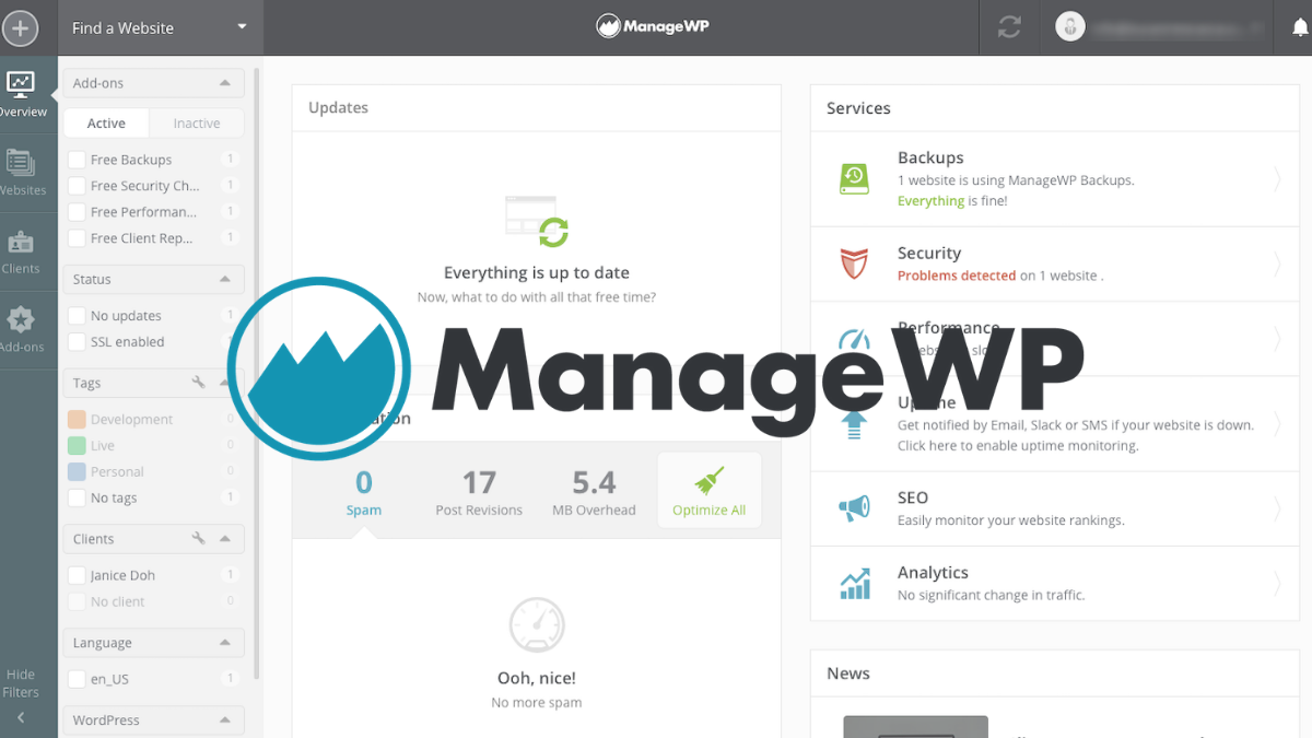 ManageWP Coupon Codes (25% OFF Working Discount Codes)